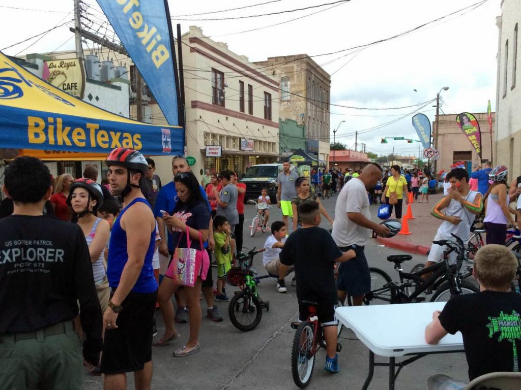 CycloBia Nights: Lighting Up Downtown Brownsville