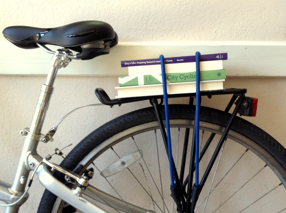 Five Bicycle Reads for Book Lovers' Day
