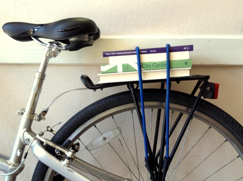 Books + Bikes = A Perfect Match