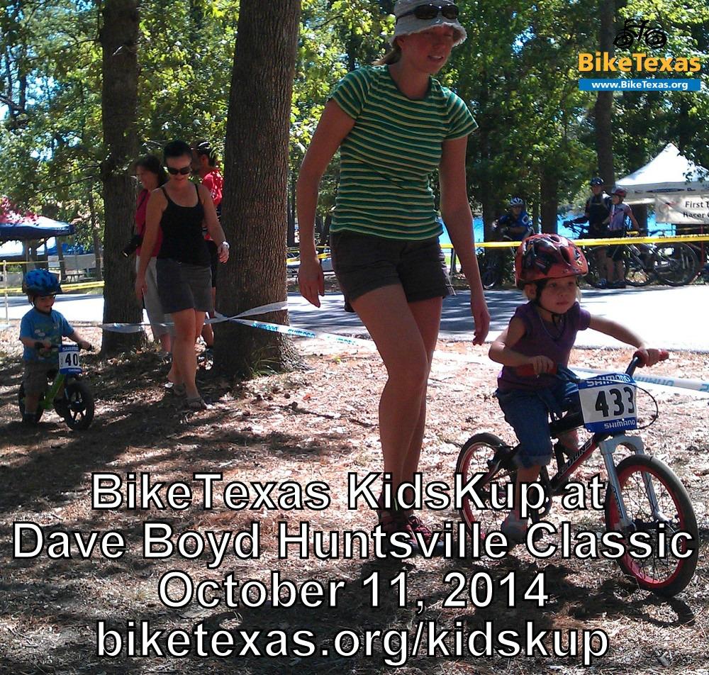 BikeTexas KidsKup at Dave Boyd Huntsville Classic 2014