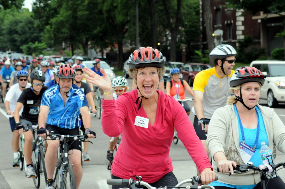 ncsl bipartisan bike ride 2014 happy rider