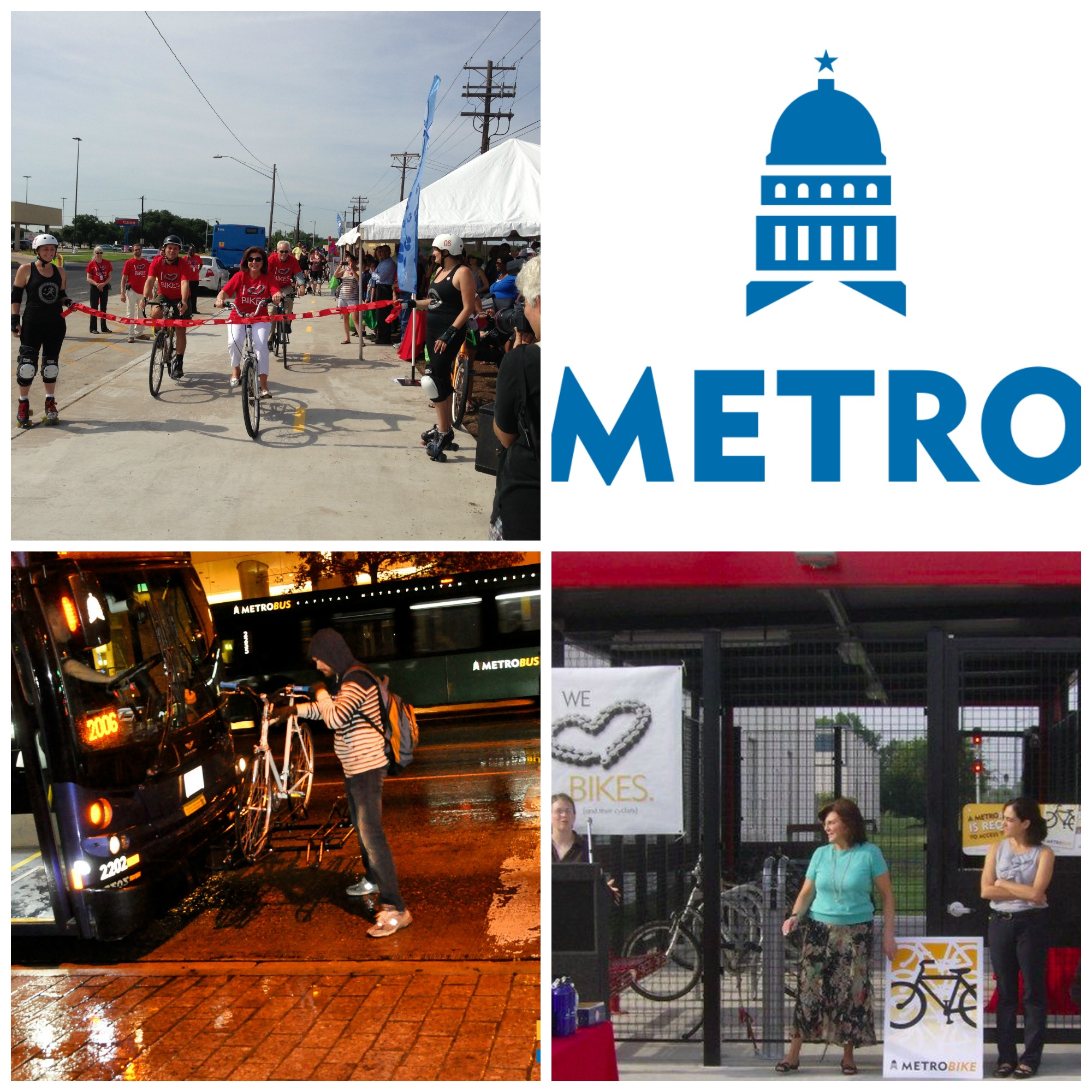 Capital Metro Bicycle Collage