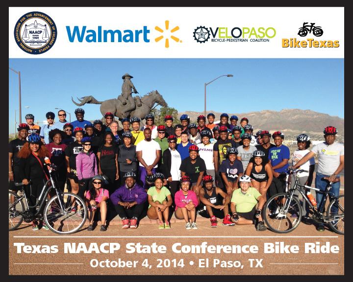 Bike Tour at 78th Annual Texas NAACP Convention
