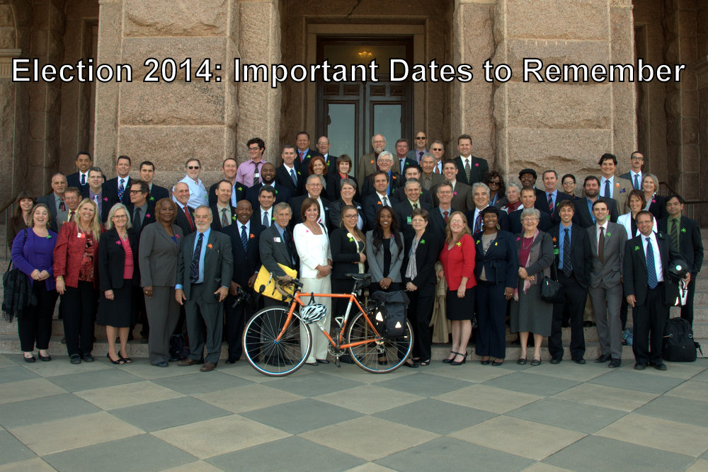 Election 2014: Important Dates to Remember