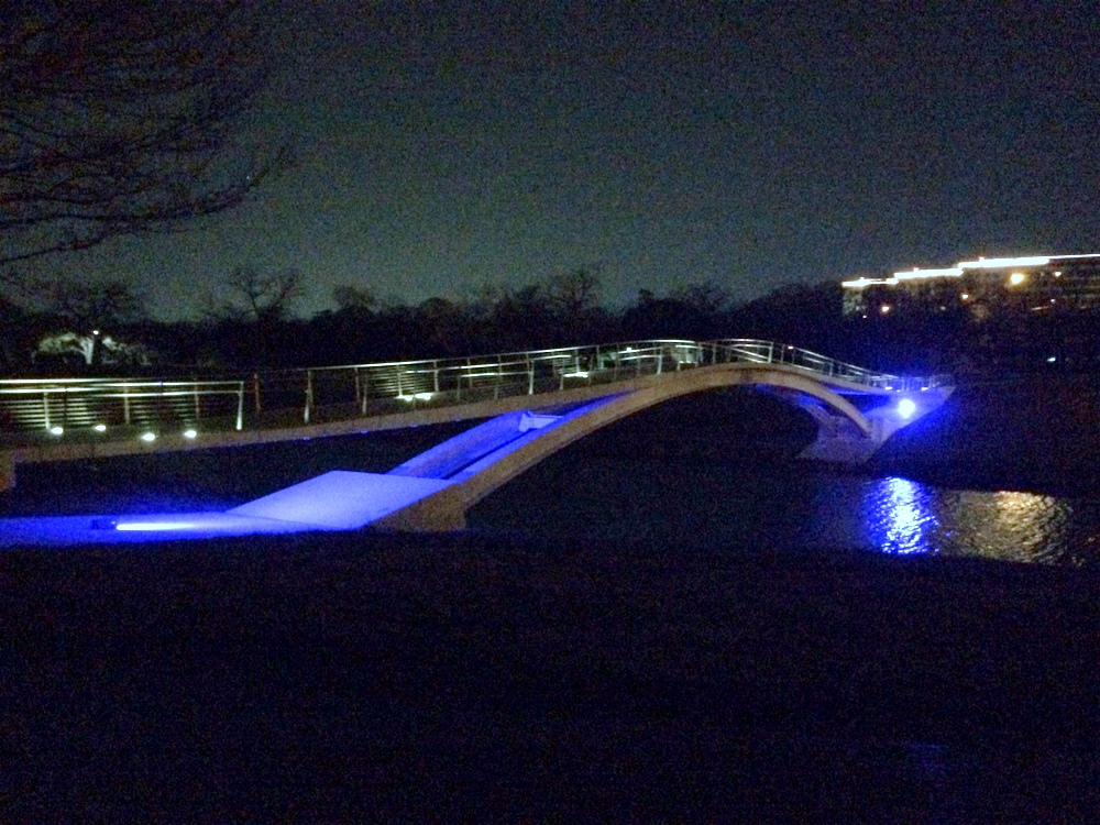 tilley bicycle pedestrian bridge fort worth texas