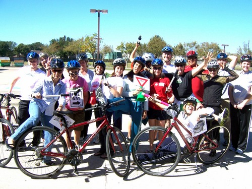 Cypress Fairbanks Training teacher training biketexas 2008