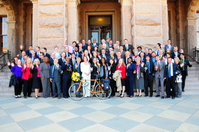cyclists in suits 13 group