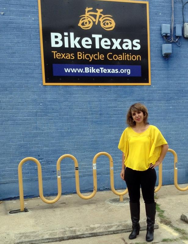 Meet BikeTexas' Fall Intern