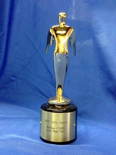 telly award trophy-001