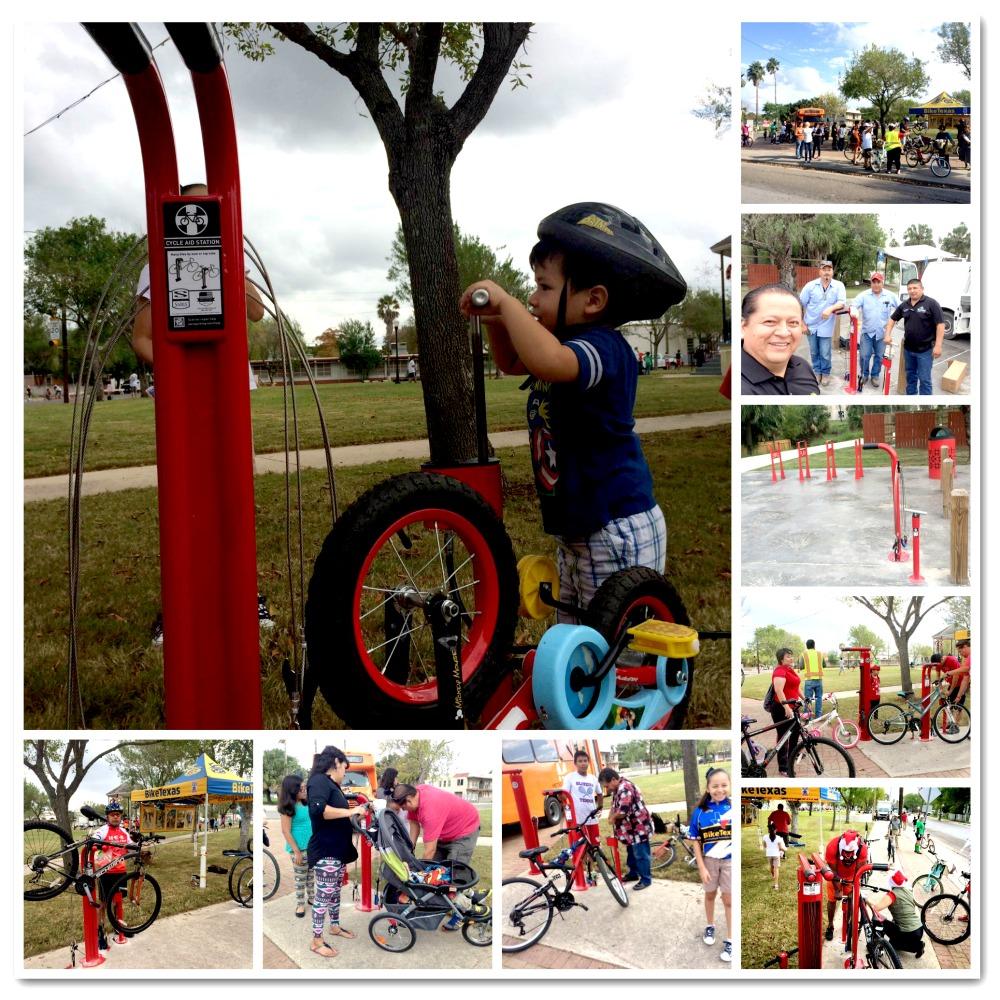 Brownsville By Bike – New Repair Stations & Bike Racks