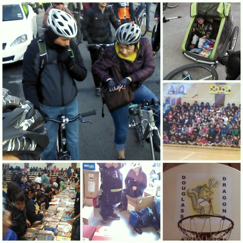 Bikes + Literacy– A Match Made in El Paso