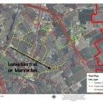 Proposed Waxahachie bike lanes