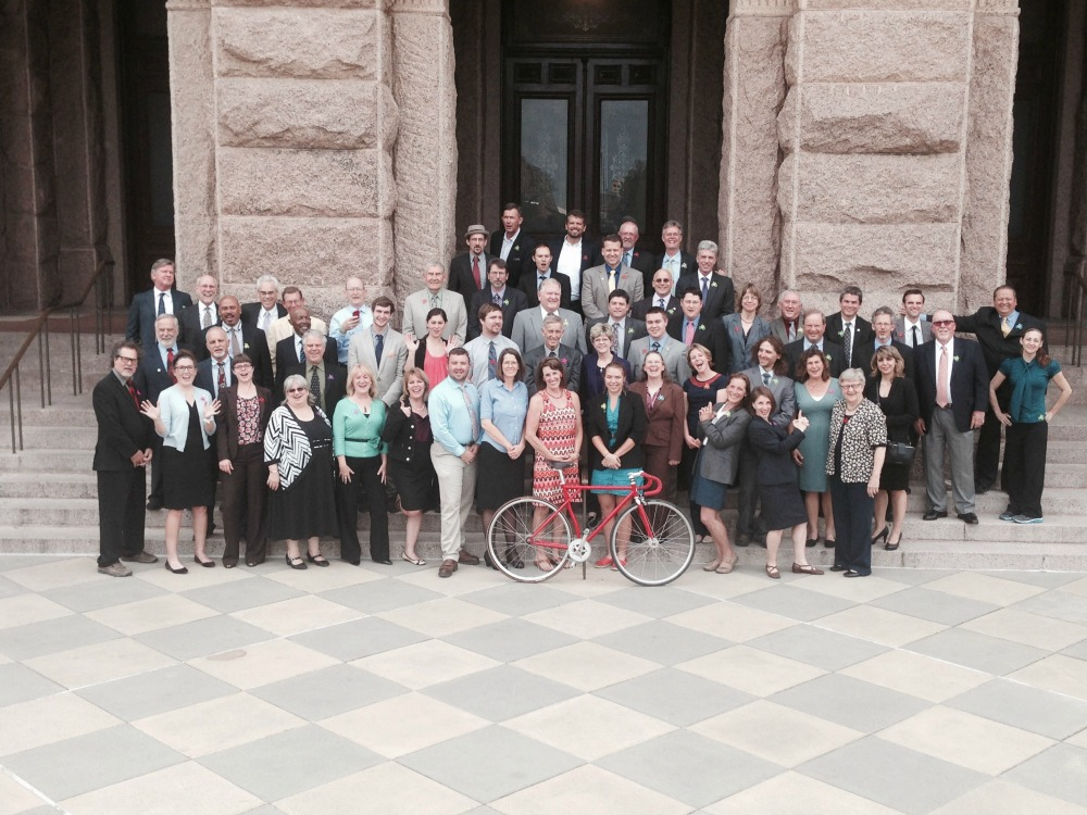 cyclists in suits 2015 fun pic for web biketexas