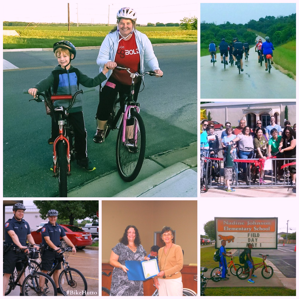 Taking this Town on Two Wheels: Bike Hutto's First Bike Month Deemed a Great Success