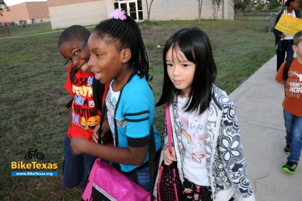 International Walk to School Day is October 7