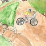 2015 poster contest 1st place biketexas bicycle education