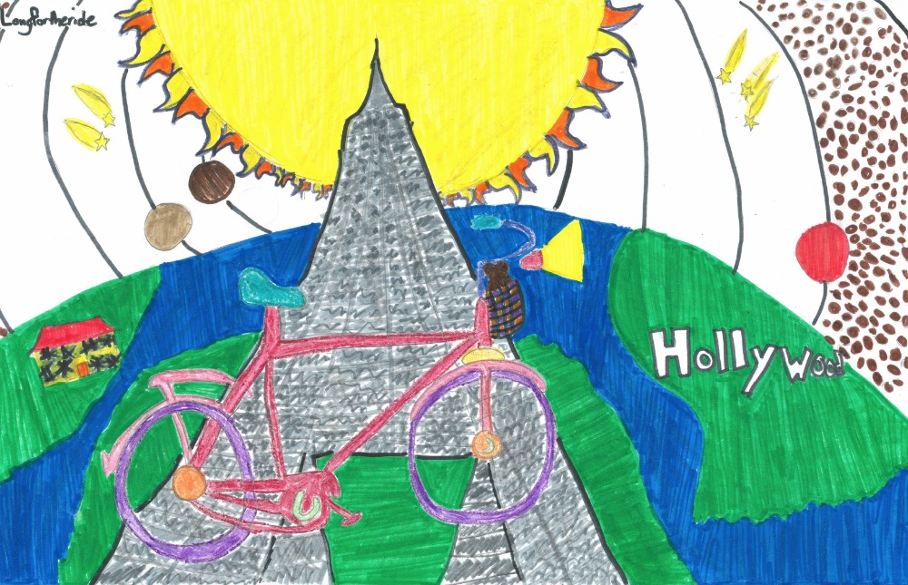 2015 poster contest biketexas bicycle education fort worth