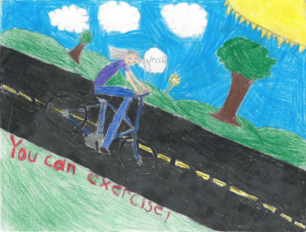 2015 poster contest biketexas bicycle education fort worth green