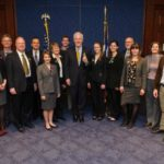 texas delegation with texas senator john cornyn national bike summit 2015