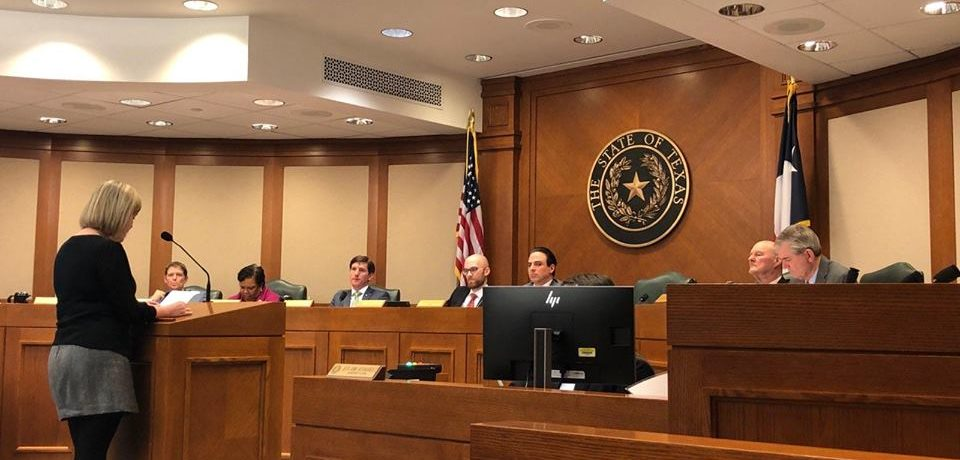 Texas House Transportation Committee Hearing on the Safe Passing Bill