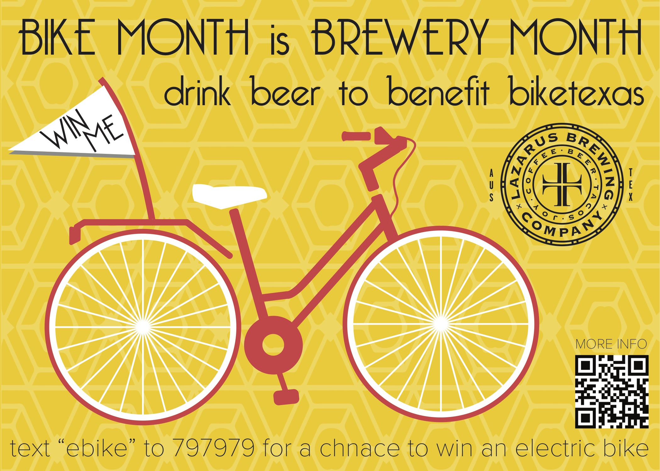 Bike Month is Brewery Month: Join us at Lazarus Brewing