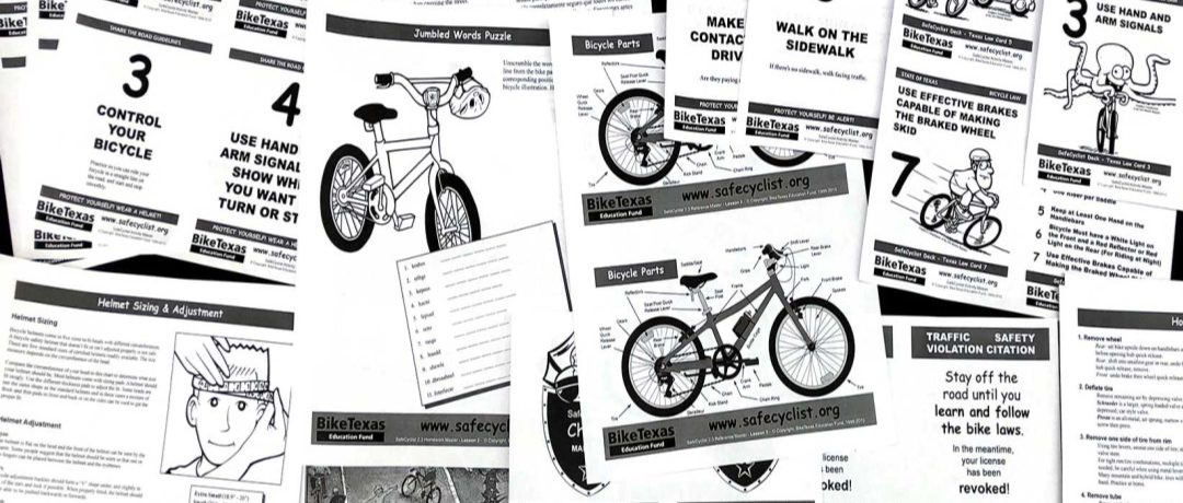 Free Bicycle Safety Materials for Kids