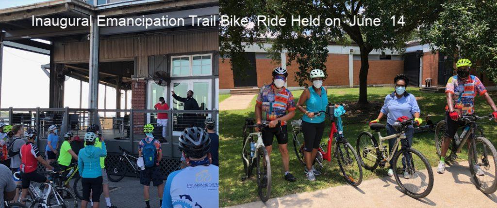 Inaugural Emancipation Trail Ride on June 14