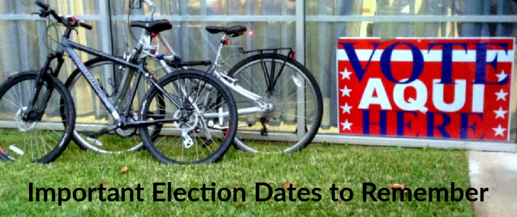 Election 2020: Important Dates to Remember