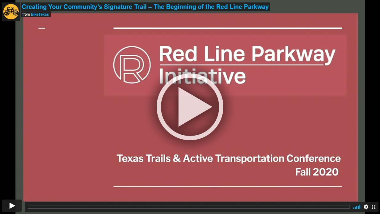Video - Creating Your Community's Signature Trail – The Beginning of the Red Line Parkway