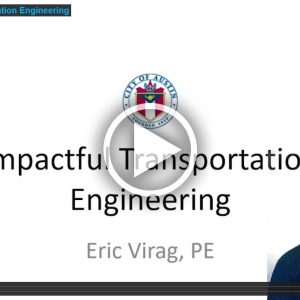 Impactful Transportation Engineering