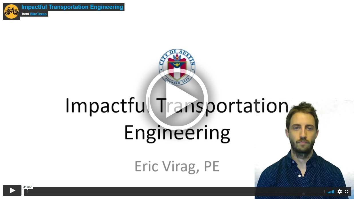 Video - Impactful Transportation Engineering