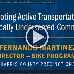 promoting active transportation