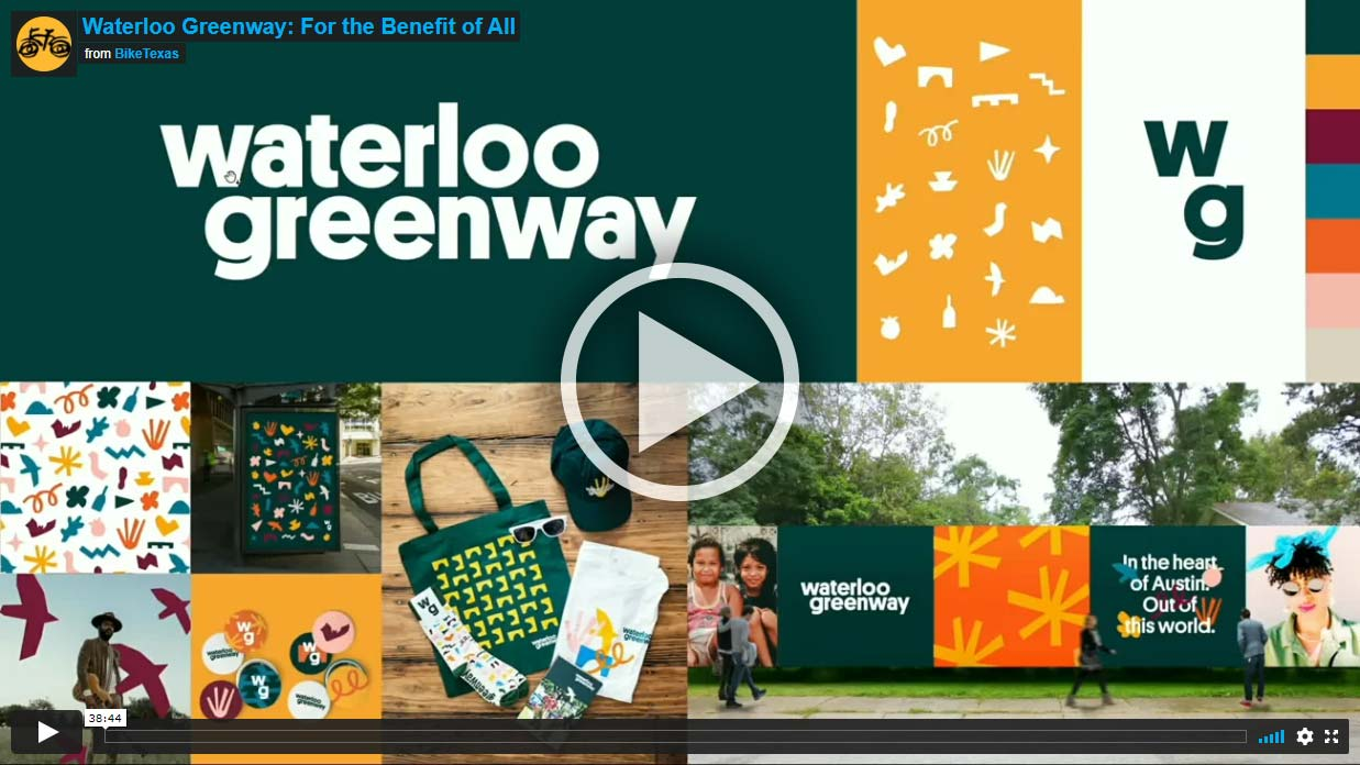Video - Waterloo Greenway: For the Benefit of All
