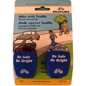 Blue Bike LIghts