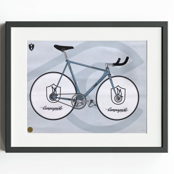 Campagnolo / Cinelli - Limited Edition Print by David Flores