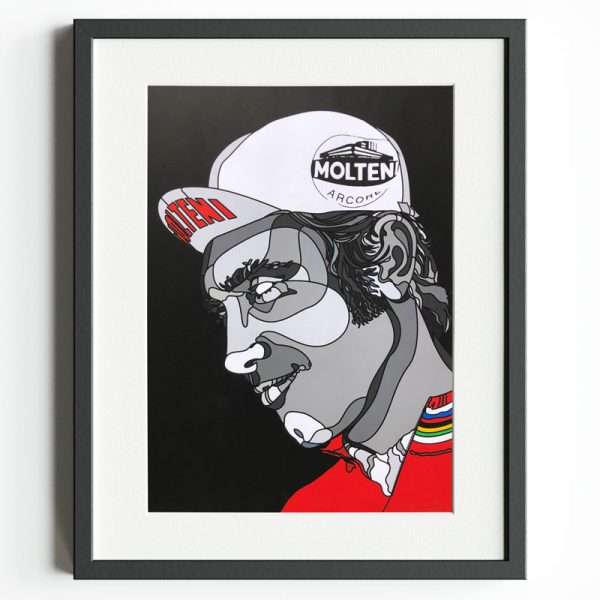 Eddy Merckx / Molteni - Limited Edition Print by David Flores